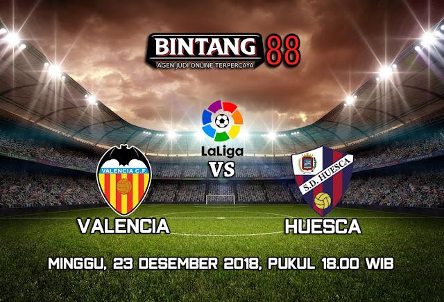Prediksi Valencia vs Huesca 23 Desember 2018