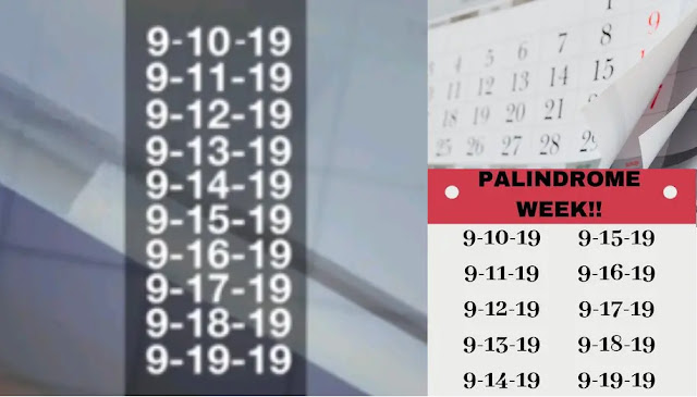 Palindrome, Technology, starts last palindrome, weather, TimeandDate,Cheerful Palindrome Week