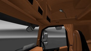 Brown-Black Interior for Volvo 2012