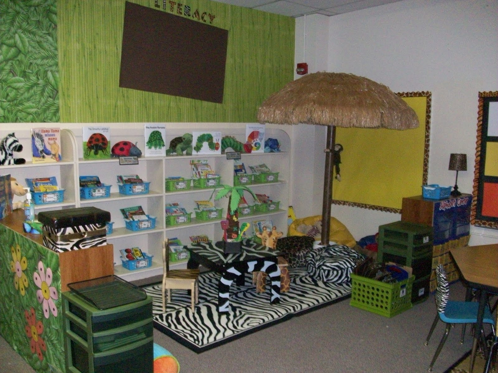It S A Jungle Out There A Kindergarten Blog Jungle Theme Classroom