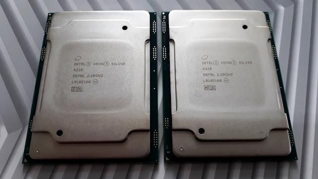 Identificando S-Spec de processadores Xeon