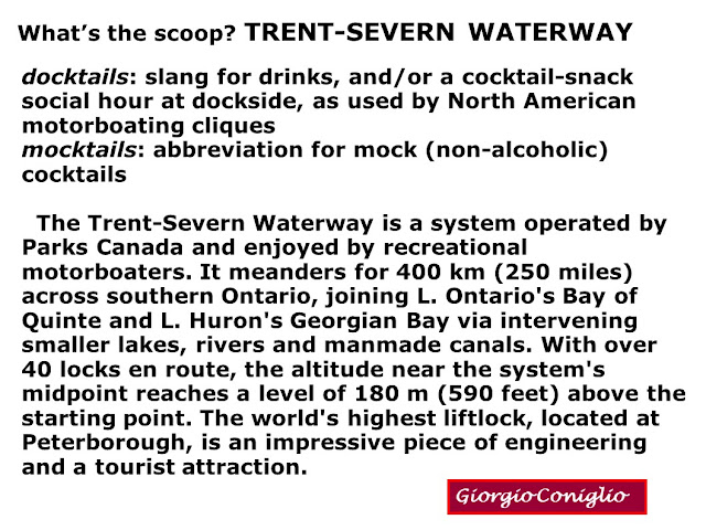 boating; tourism; canal; Ontario; Trent-Severn; Giorgio Coniglio