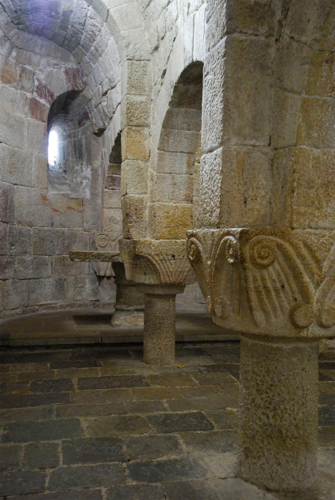 monasterio leyre navarra spain chapel capilla