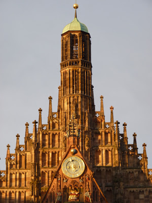 Sehenswürdigkeiten Nürnberg, Frauenkirche Nürnberg