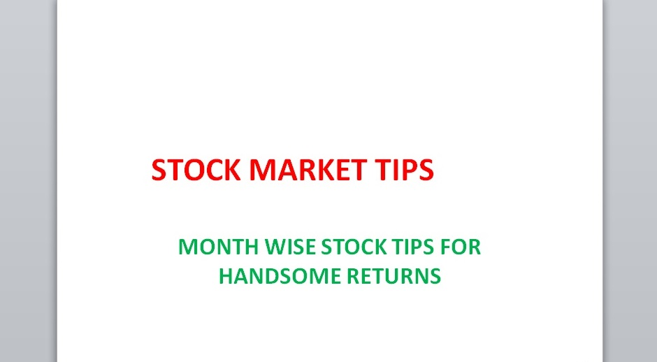 Get Here Free Stock Market Tips 2021