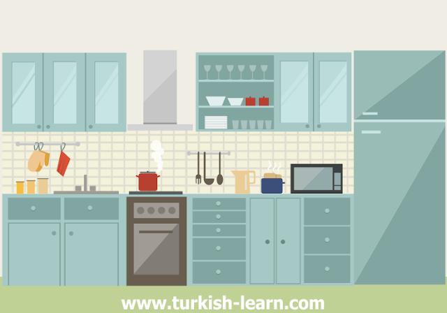 الأفعال التركية المستخدمة في المطبخ