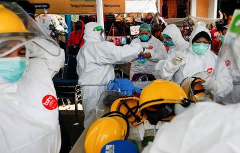 BREAKING NEWS: Melesat 1.043, Kasus Positif Corona di RI Kini 33.076