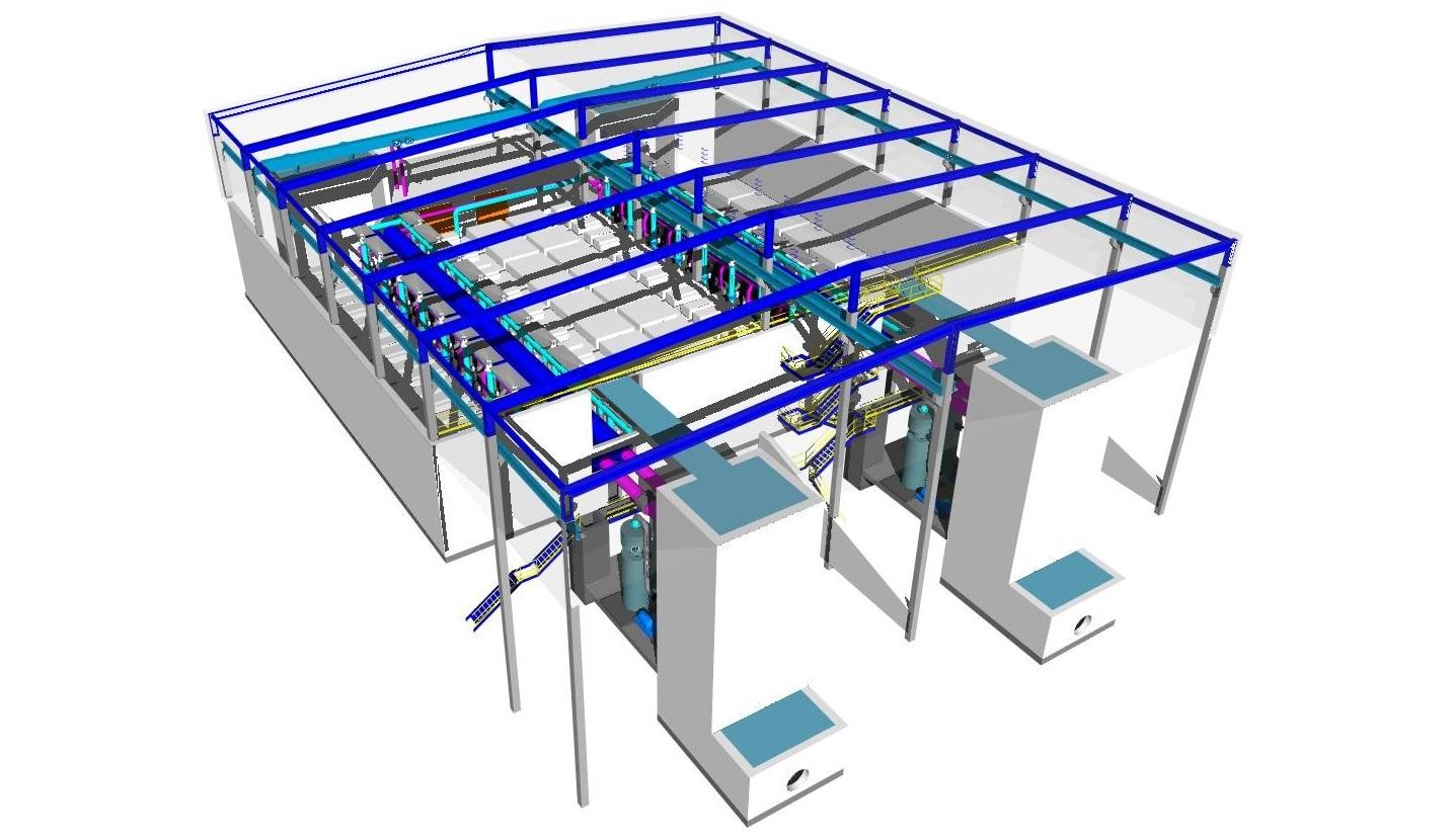 estructuras plant 3d plantas industriales