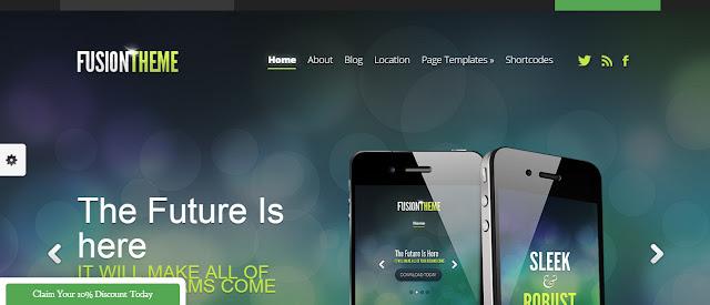 Fusiontheme- Flexible wordpress theme wpxif roundup 2016