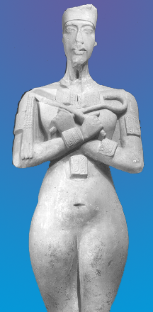 La extraña apariencia física del Faraón Akenatón