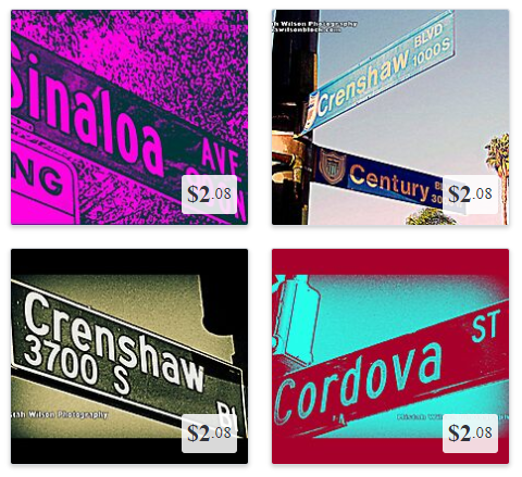 Get Your Favorite Street Sign on T-Shirts and Other Cool Stuff!!!