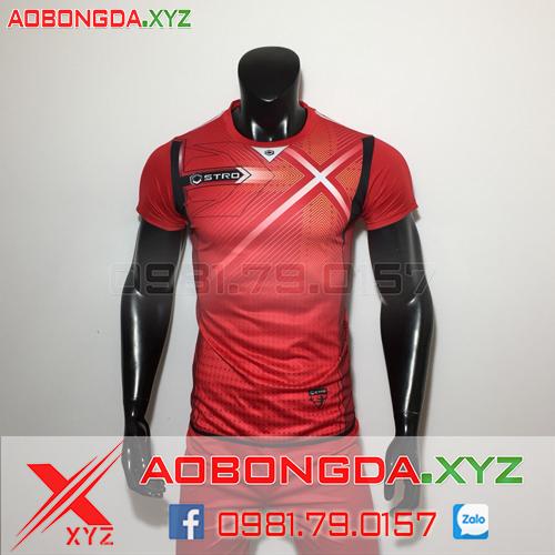 Áo Không Logo Mã XYZ-19 2020 Màu Đỏ
