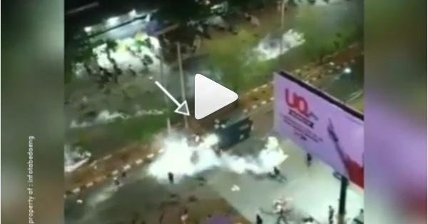 Viral Video Mobil Taktis Polisi Lindas Peserta Aksi di Makassar