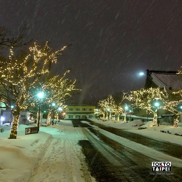 【函館Illumination】昏黃燈泡點滿海港舊城街道 嚴冬裡冰雪浪漫八幡坂和二十間坂