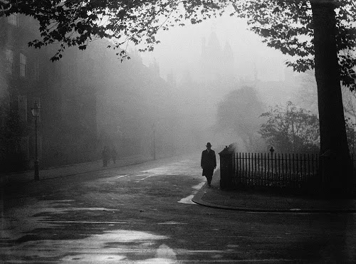 Behind the name misty city of London