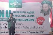 PCNU Jakbar Laksanakan Kegiatan Madrasah Kader Nahdlatul Ulama (MKNU) Angkatan Ke 244