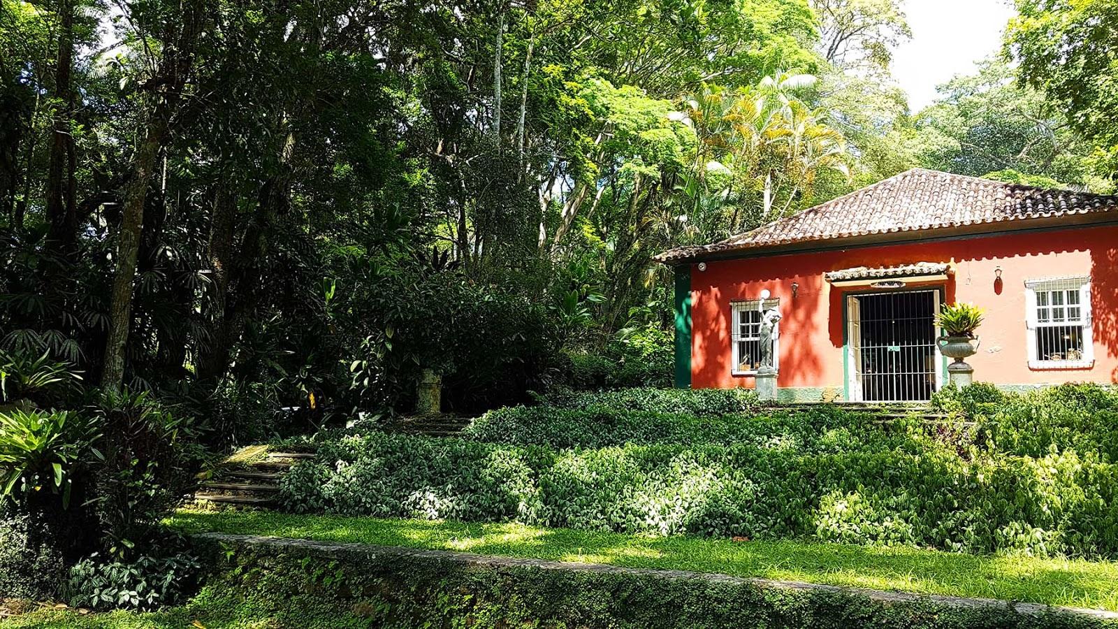 Restaurante Os Esquilos na Floresta da Tijuca