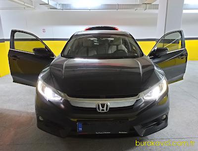 Honda Civic Elegance ve Executive Modellerde LPG Mode ve ECON Mode Kullanımı