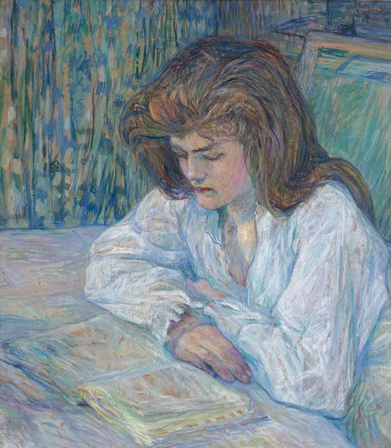 Henri Toulouse Lautrec, La lettrice