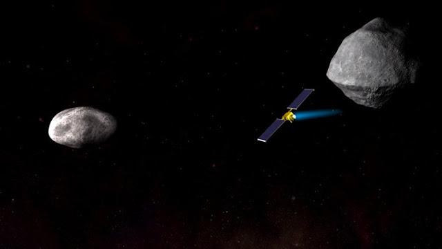 La NASA completa la primera fase de su plan para desviar un asteroide