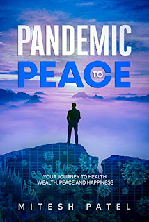 Pandemic to Peace book promotion sites Mitesh Patel