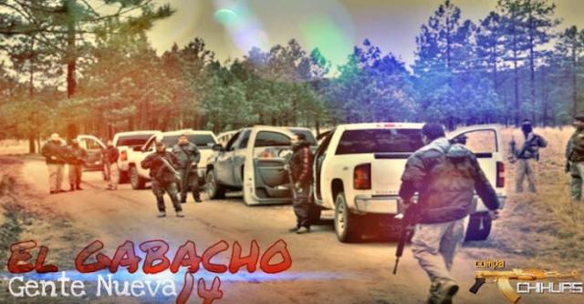 """Video: """"El Gabacho o El 14"""" líder de la Gente Nueva del CDS tenía su propio corrido peor ya fue abatido"""