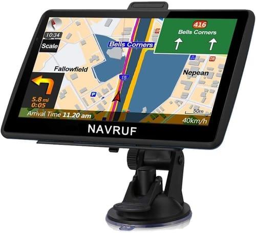 NAVRUF Cars High Resolution Touch Screen GPS Navigation
