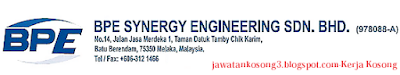 Jawatan Kosong Terkini BPE Synergy Engineering Sdn Bhd