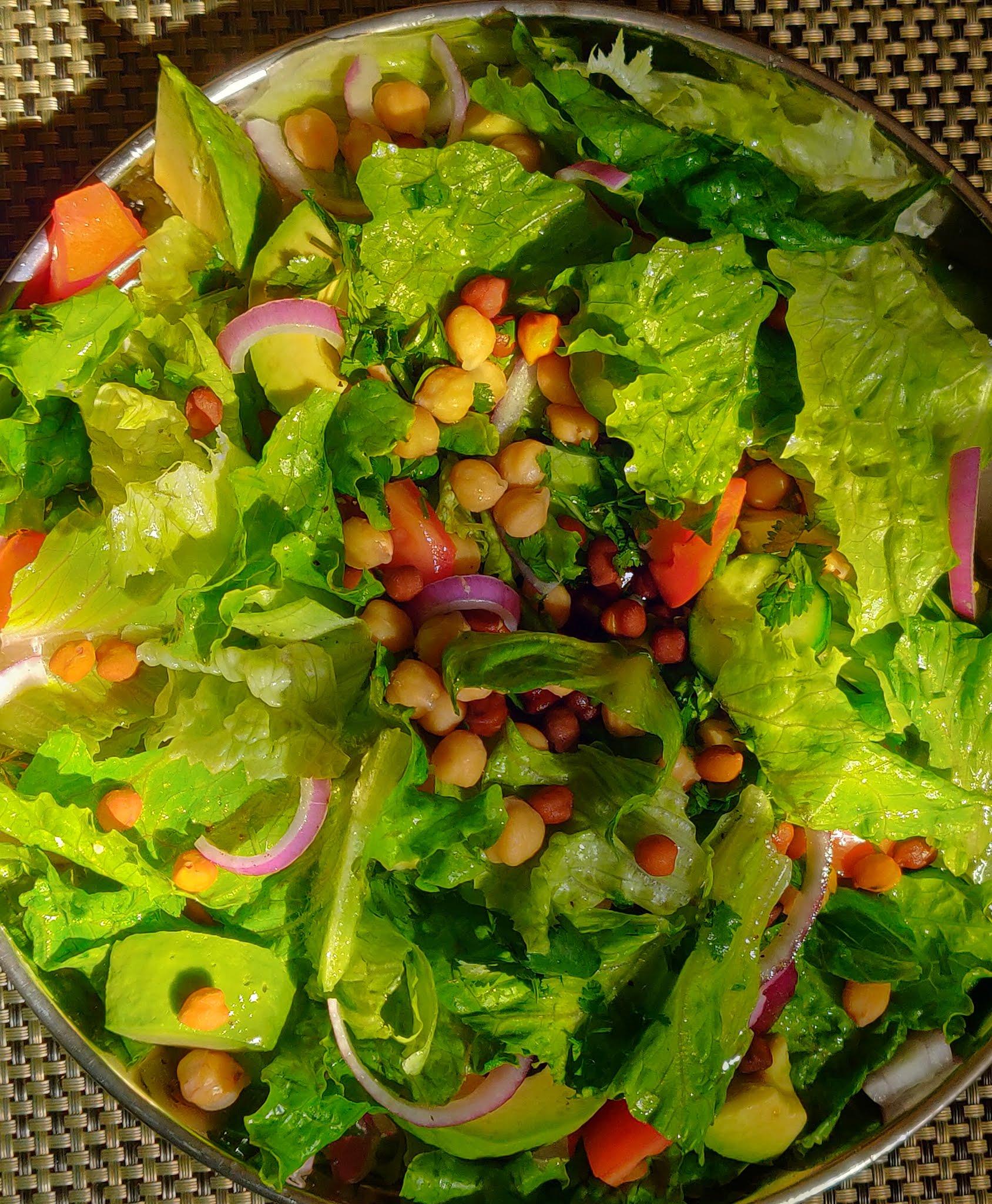 Chickpea salad recipe Indian   channa salad recipe   Garbanzo salad recipe   Kondakadalai salad