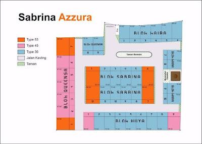 Siteplan Sabrina Azzura