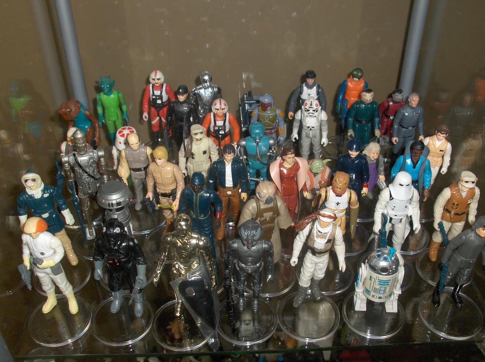 Vintage Kenner Star Wars Toys Vintage Figure Collection