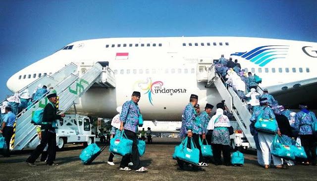 Keberangkatan Jemaah Haji Indonesia