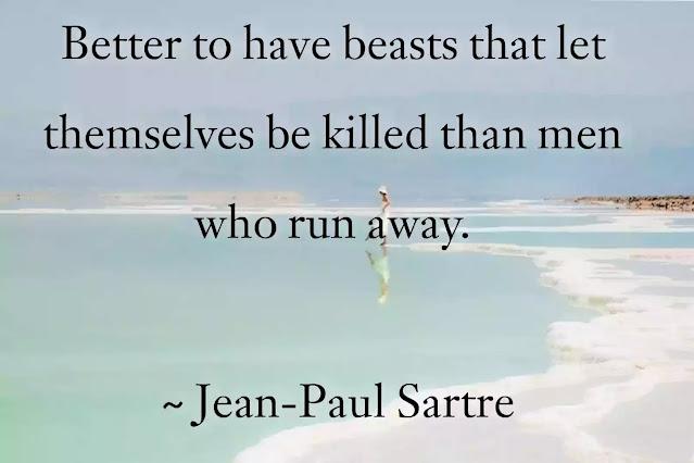 jean paul sartre sayings