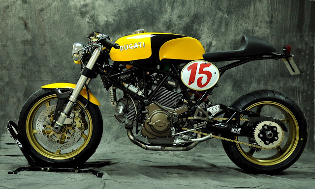 Ducati 750 SSie 1998 By XTR Pepo Hell Kustom