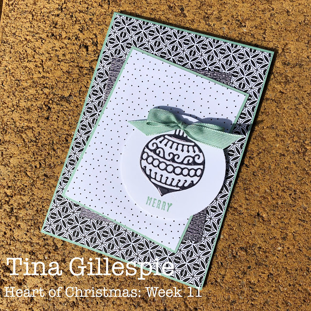 scissorspapercard, Stampin' Up!, Heart Of Christmas, Christmas To Remember, Pattern Party DSP, Gingerbread Dies, Subtle 3DEF, Sheetload Of Cards, Christmas Card