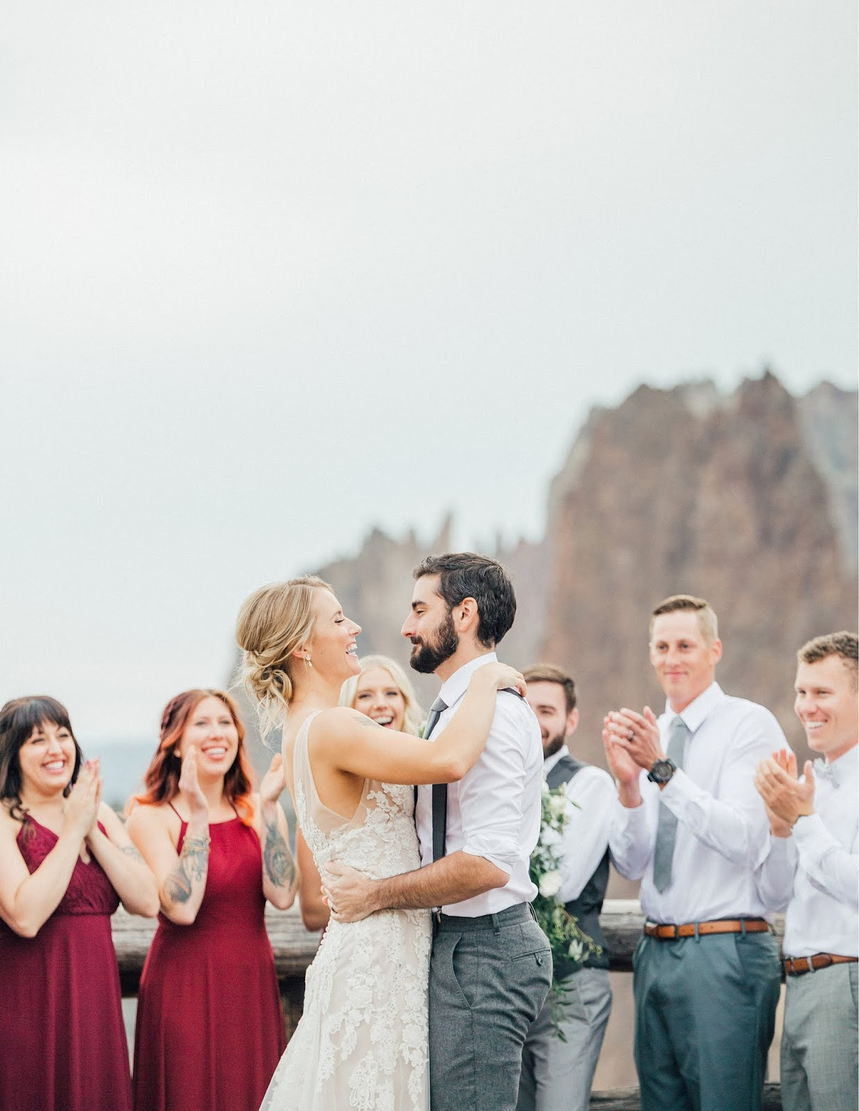 Smith Rock State Park Wedding-PNW Wedding Photographer-Something Minted Photography