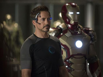 Robert Downey Jr. as Tony Stark Iron Man in Iron Man 3