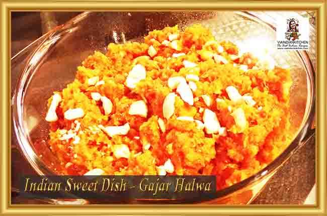 Indian Sweet Dishes - Gajar Halwa
