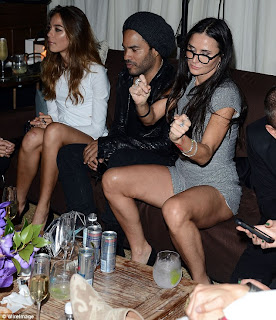 Aint No Party Like A Demi Moore Party Lenny Kravitz Just Wants Her To Go Away