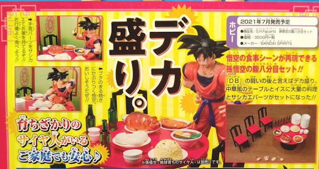 S.H.Figuarts Goku Eating Scenes