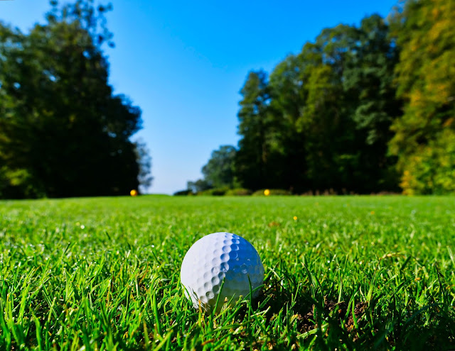 white golf ball on golf course. Photo by Louis Z S on Unsplash