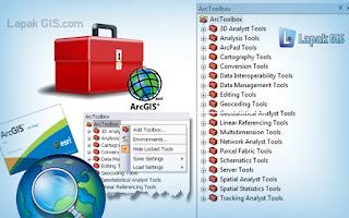 Kumpulan Fungsi Tools ArcToolbox pada ArcGIS