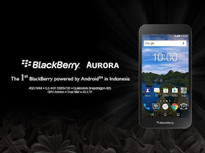 BlackBerry Aurora, Android 7.0 Nougat, Android Nougat, Android Smartphone, smartphone baru, spesifikasi BlackBerry