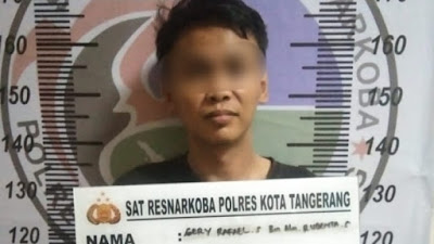 Miliki 66,97 Gram Sabu, Pria di Jayanti Diciduk Satresnarkoba Polresta Tangerang