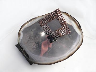 mini textile sculpture