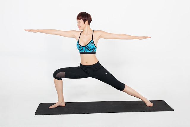 Yoga tư thế chiến binh - bí quyết giảm cân hiệu quả