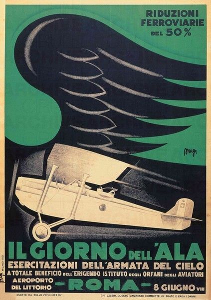 Day of the Wing Fascist airplane ads worldwartwo.filminspector.com