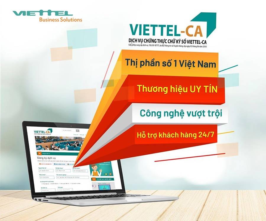Viettel-CA là đơn vị có thị phần chữ ký số lớn nhất Việt Nam