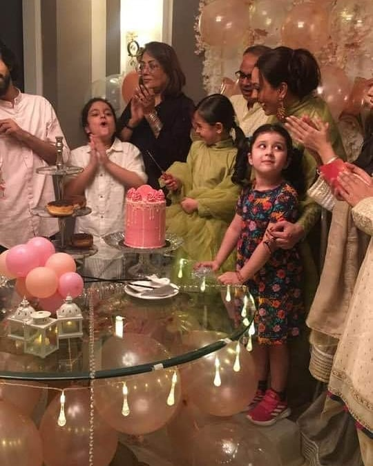 Sadia Imam Eid Pictures with her Beautiful Daughter Meerab