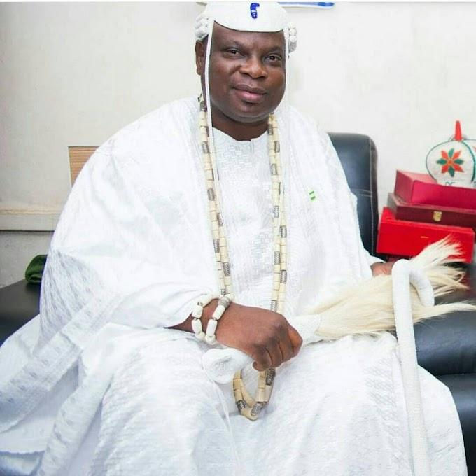 His Royal Majesty Olota Of Ota Celebrates 1st Birthday On Throne.
